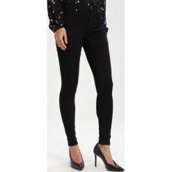 Kaffe GRACE  Jeans Skinny Fit black deep. Czarne jeansy damskie Kaffe, z bawełny. Za 249,00 zł.
