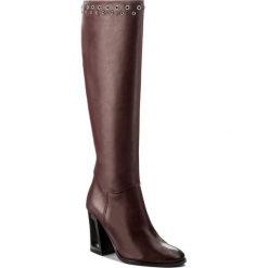 Kozaki EVA MINGE - Izabelle 2P 17SF1372248EF 134. Czerwone buty zimowe damskie Eva Minge, ze skóry. W wyprzedaży za 349,00 zł.