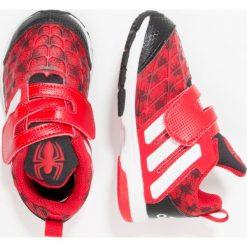 Adidas Performance MARVEL SPIDERMAN Obuwie treningowe scarlet/core black/footwear white. Brązowe buty skate męskie marki adidas Performance, z gumy. W wyprzedaży za 143,20 zł.
