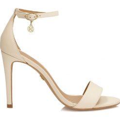 Rzymianki damskie: Beżowe sandały damskie