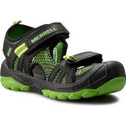 Sandały MERRELL - Hydro Rapid MC54843 Blk/Grn. Czarne sandały męskie skórzane marki Merrell. W wyprzedaży za 149,00 zł.
