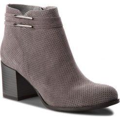 Botki SERGIO BARDI - Belmonte SS127323318GM 809. Szare buty zimowe damskie Sergio Bardi, ze skóry, na obcasie. W wyprzedaży za 259,00 zł.
