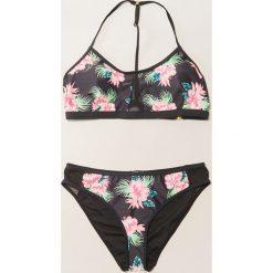 Stroje dwuczęściowe damskie: Bikini w egzotyczne kwiaty – Wielobarwn