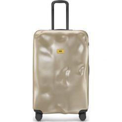 Walizka Icon duża złota. Szare walizki marki Crash Baggage, z materiału. Za 1120,00 zł.
