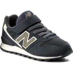 Trampki chłopięce: Sneakersy NEW BALANCE – KV996VLY Granatowy