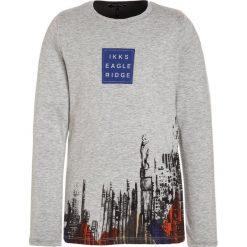 IKKS AVEN TOKYO Bluzka z długim rękawem gris chiné/gris anthra. Szare bluzki dziewczęce bawełniane marki IKKS, z długim rękawem. W wyprzedaży za 167,20 zł.