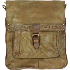 Torba - PLEA012 LIGRE. Żółte torebki klasyczne damskie marki Venezia, ze skóry. Za 499,00 zł.