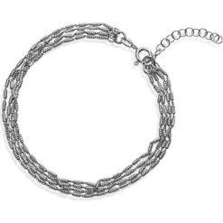 Bransoletki damskie na nogę: Piękna Bransoletka Srebrna - srebro 925