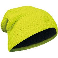 Czapki męskie: Buff Czapka Knitted & Polar Drip Yellow Fluor