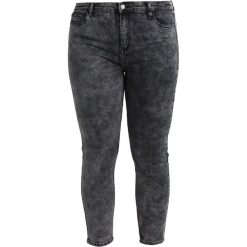 Rurki damskie: Glamorous Curve SKINNY FIT JEANS Jeans Skinny Fit charcoal