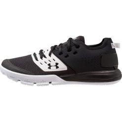 Under Armour CHARGED ULTIMATE 3.0 Obuwie treningowe black/white/black. Czarne buty skate męskie Under Armour, z materiału. Za 359,00 zł.