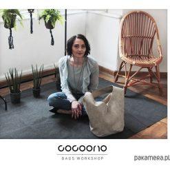 Short Boogi Bag beżowa / torebka hobo / boho. Brązowe torebki klasyczne damskie Pakamera. Za 185,00 zł.