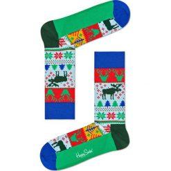 Happy Socks - Skarpety Renifer Christmas. Szare skarpetki męskie Happy Socks. W wyprzedaży za 29,90 zł.
