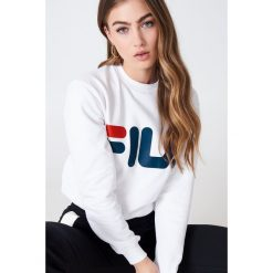 FILA Bluza Classic Logo - White. Białe bluzy męskie rozpinane Fila, s, z długim rękawem, długie. Za 202,95 zł.