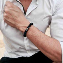 Biżuteria i zegarki: Bransoletka męska LE BLEU