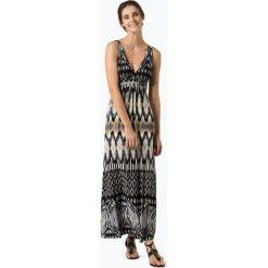 Kavi - Sukienka damska, czarny. Czarne długie sukienki Kavi, na lato, z nadrukiem. Za 229,95 zł.