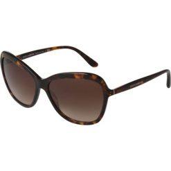 Dolce&Gabbana Okulary przeciwsłoneczne brown. Brązowe okulary przeciwsłoneczne damskie lenonki Dolce&Gabbana. Za 919,00 zł.