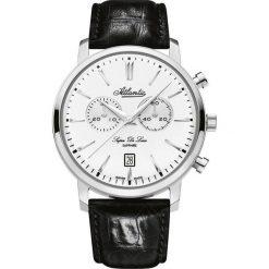 Zegarek Atlantic Męski Super De Luxe 64451.41.21 Chronograf czarny. Czarne zegarki męskie Atlantic. Za 1631,99 zł.