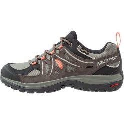 Salomon ELLIPSE 2 GTX Obuwie hikingowe castor gray/beluga/living coral. Szare buty trekkingowe damskie Salomon, z gumy, outdoorowe. W wyprzedaży za 415,20 zł.