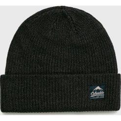 Columbia - Czapka. Czarne czapki zimowe męskie Columbia, z dzianiny. W wyprzedaży za 84,90 zł.