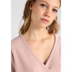 Swetry damskie: Vila VIPALONA WRAP  Sweter adobe rose