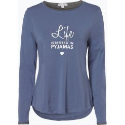 Marie Lund - Koszulka damska, niebieski. Niebieskie t-shirty damskie Marie Lund, l, z bawełny. Za 89,95 zł.