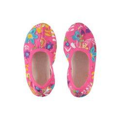 Beck  Girls Buty gimnastyczne FLEUR kolor róźowy. Czerwone buciki niemowlęce Beck, z gumy. Za 45,00 zł.
