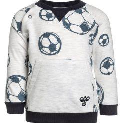 Hummel BABY Bluza creme melange. Białe bluzy chłopięce marki Hummel, z bawełny. Za 149,00 zł.