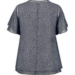 Bluzki asymetryczne: Bluzka w kropki