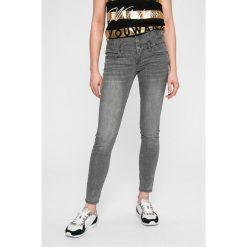 Liu Jo - Jeansy. Szare jeansy damskie Liu Jo, z bawełny, z podwyższonym stanem. W wyprzedaży za 449,90 zł.