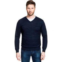 Sweter FABRIZIO SWGR000179. Czarne swetry klasyczne męskie Giacomo Conti, m, z materiału. Za 229,00 zł.