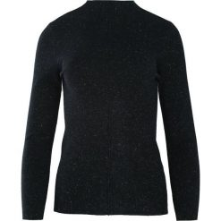 Czarny Sweter Discernment. Niebieskie swetry klasyczne damskie marki ARTENGO, z elastanu, ze stójką. Za 59,99 zł.