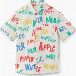 Koszule chłopięce z krótkim rękawem: Mango Kids - Koszula dziecięca Erico 110-164 cm