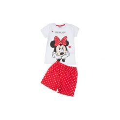 Bielizna dziewczęca: piżama dziewczęca z printem, w kropki
