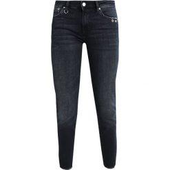 Mavi ADRIANA ANKLE Jeans Skinny Fit ink eyelet. Czarne rurki damskie Mavi. W wyprzedaży za 154,50 zł.