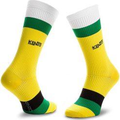 Skarpety Wysokie Męskie KENZO - 8SM210 JSY Lemon 39. Czerwone skarpetki męskie marki Happy Socks, z bawełny. Za 129,00 zł.
