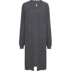 """Sweter bez zapięcia """"oversize"""" bonprix antracytowy. Szare swetry oversize damskie bonprix. Za 149,99 zł."""