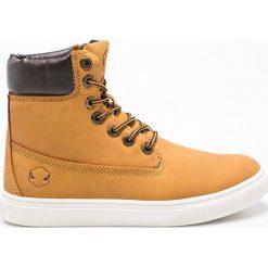 Andy-Z - Botki. Czarne buty zimowe damskie marki Andy-Z, z materiału. W wyprzedaży za 69,90 zł.