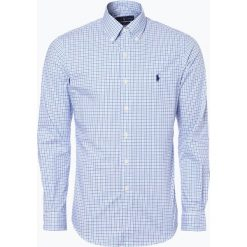 Polo Ralph Lauren - Koszula męska, niebieski. Niebieskie koszule męskie w kratę marki Polo Ralph Lauren, m, polo. Za 349,95 zł.