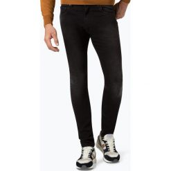Tommy Hilfiger - Jeansy męskie – Lewis Hamilton, niebieski. Szare jeansy męskie z dziurami marki TOMMY HILFIGER, z bawełny. Za 449,95 zł.