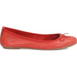 Baleriny damskie: Czerwone baleriny damskie