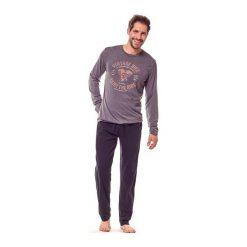 Piżama Flame 36202-90X Grafitowa. Szare piżamy męskie marki Henderson. Za 103,90 zł.