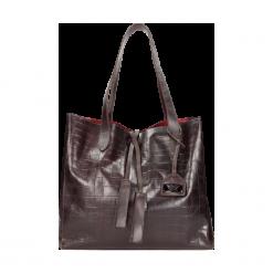 Torebka damska. Czarne torebki klasyczne damskie Wojas, duże. Za 367,20 zł.