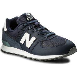 Trampki chłopięce: Sneakersy NEW BALANCE – GC574D4 Granatowy