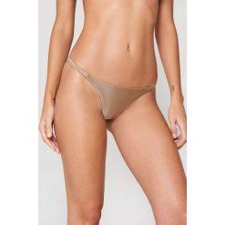FAYT Dół od bikini Brooks - Brown. Brązowe bikini FAYT. Za 76,95 zł.