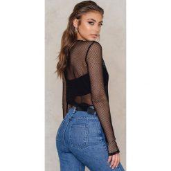 Koszule body: Vanessa Moe x NA-KD Koszula Net - Black