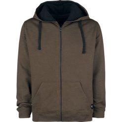 Black Premium by EMP Mask Of Sanity Bluza z kapturem rozpinana brązowy. Brązowe bluzy męskie rozpinane marki SOLOGNAC, m, z elastanu. Za 144,90 zł.