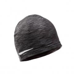 Czapka ocieplana do biegania. Czarne czapki zimowe damskie marki INOVIK, z elastanu. Za 29,99 zł.