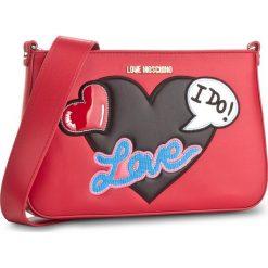 Torebka LOVE MOSCHINO - JC4108PP15LT0500 Rosso. Czerwone listonoszki damskie marki Love Moschino. W wyprzedaży za 569,00 zł.