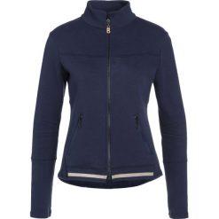 Bogner Fire + Ice KATELYN Bluza rozpinana dark blue. Niebieskie bluzy rozpinane damskie Bogner Fire + Ice, z bawełny. W wyprzedaży za 471,75 zł.